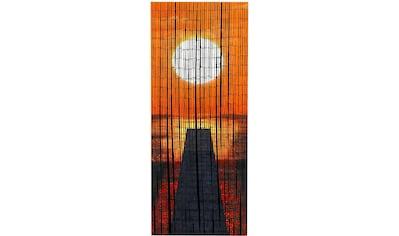 Türvorhang, »Sonnenuntergang«, WENKO, Hakenaufhängung 1 Stück kaufen