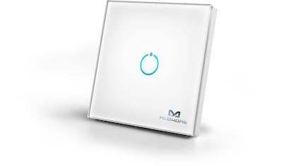 Z - Wave Smart Home Zubehör »Glas - Wandschalter (1 Taste)  -  Z - Wave« kaufen