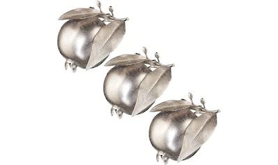 Creativ deco Dekoobjekt, Granatapfel, Höhe ca. 12,5 cm kaufen