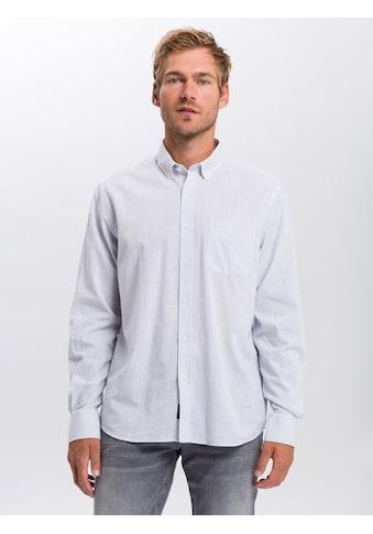 Cross Jeans® Langarmhemd »35368«, Silsicheres Basichemd kaufen