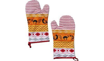 stuco Topfhandschuhe »Inka«, (Set, 2 tlg.) kaufen
