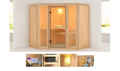 KARIBU Sauna »Flora 1«, 196x196x198 cm, ohne Ofen kaufen