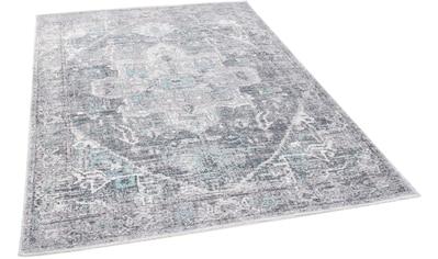 Teppich, »Funky Orient Tabriz«, TOM TAILOR, rechteckig, Höhe 5 mm, maschinell gewebt kaufen