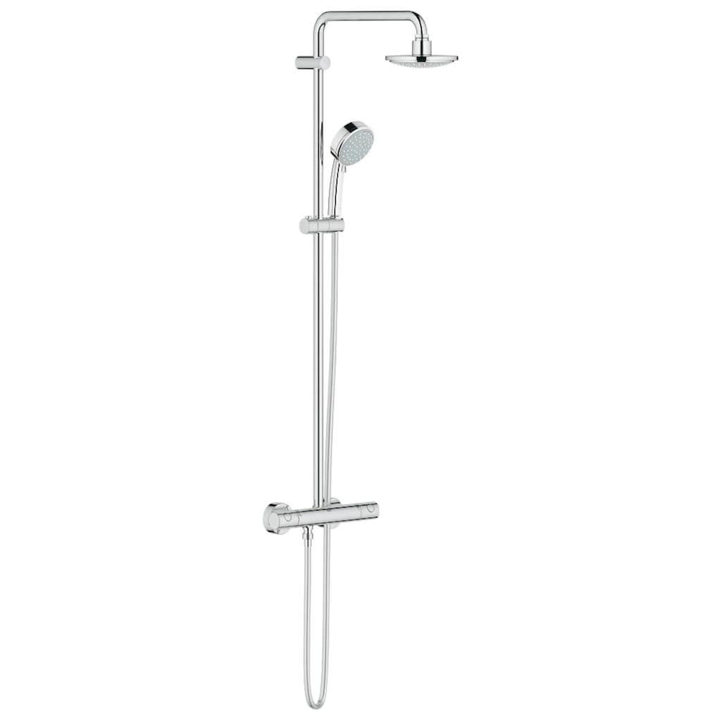 Grohe Brausegarnitur »Tempesta Cosmopolitan System 160«, für Wandmontage, Duschsystem mit Batterie
