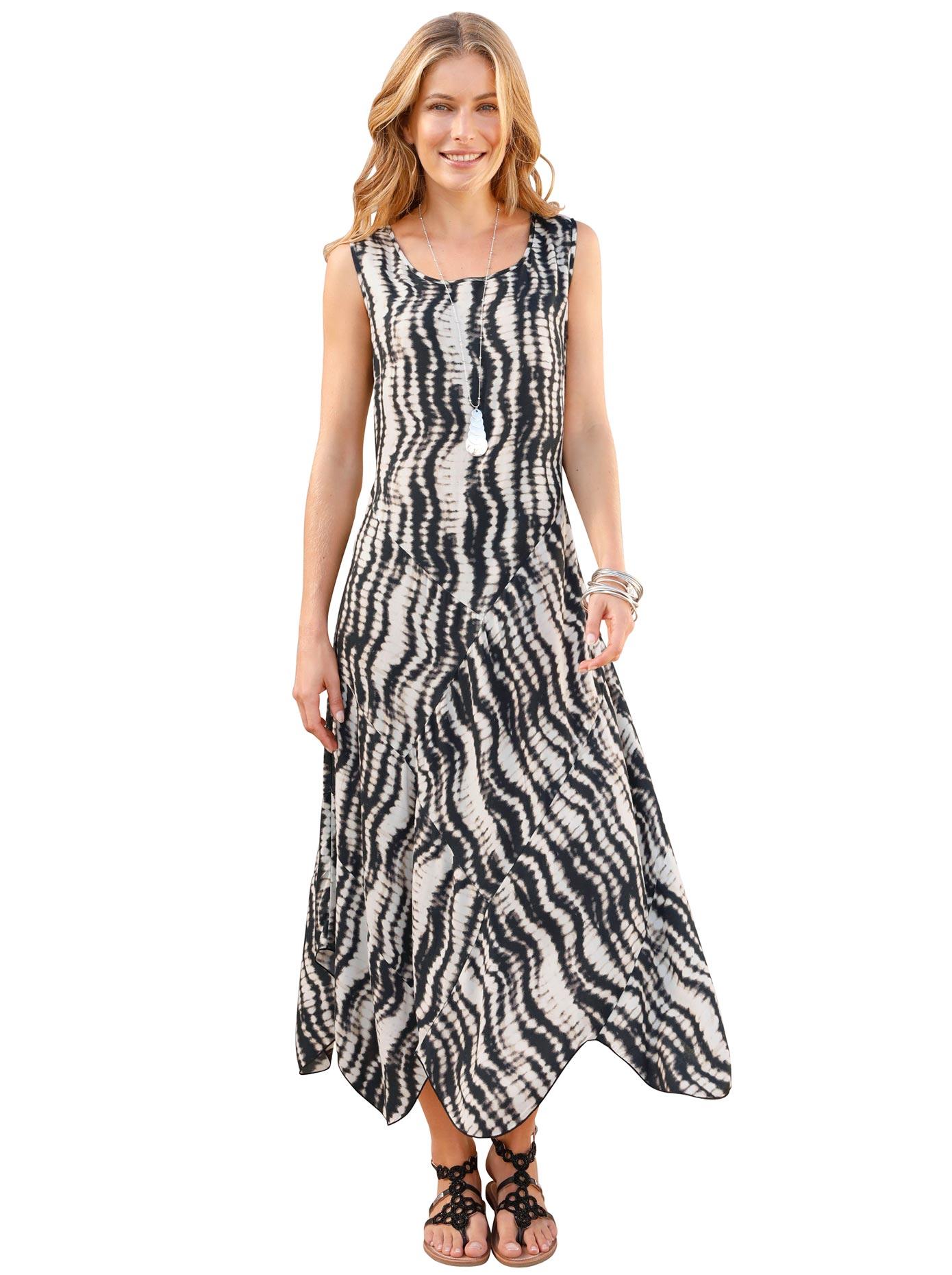 Classic Inspirationen Kleid im effektvollen Batik-Druck