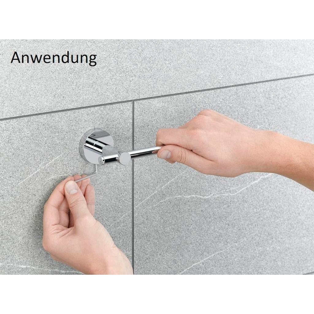 Nie wieder bohren Feuchttücherbox »WE«, (1 St.), in weiß