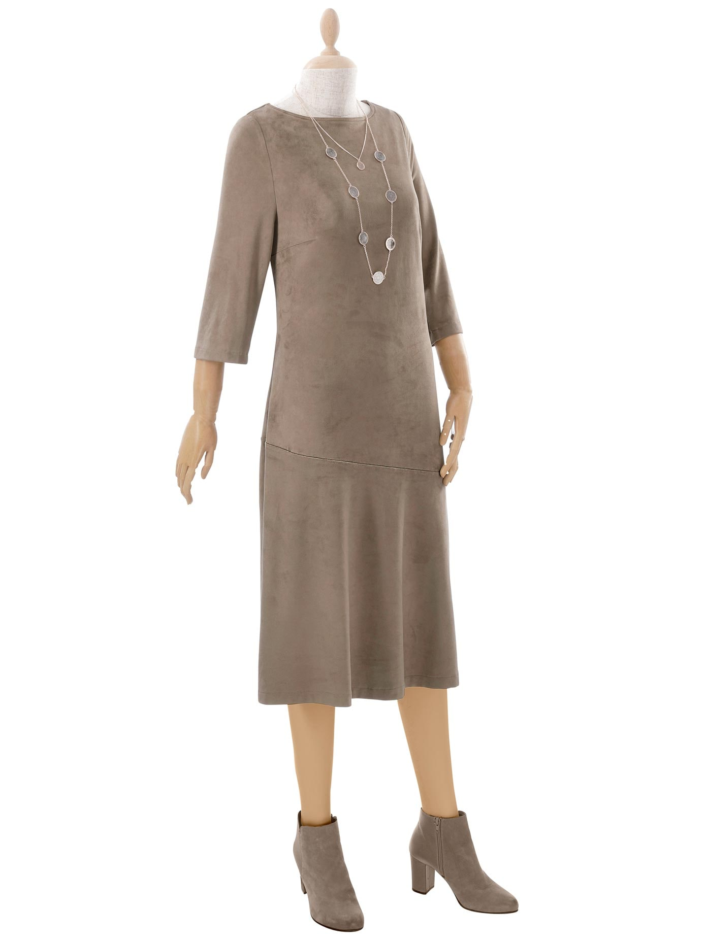 inspirationen -  Lederkleid Kleid