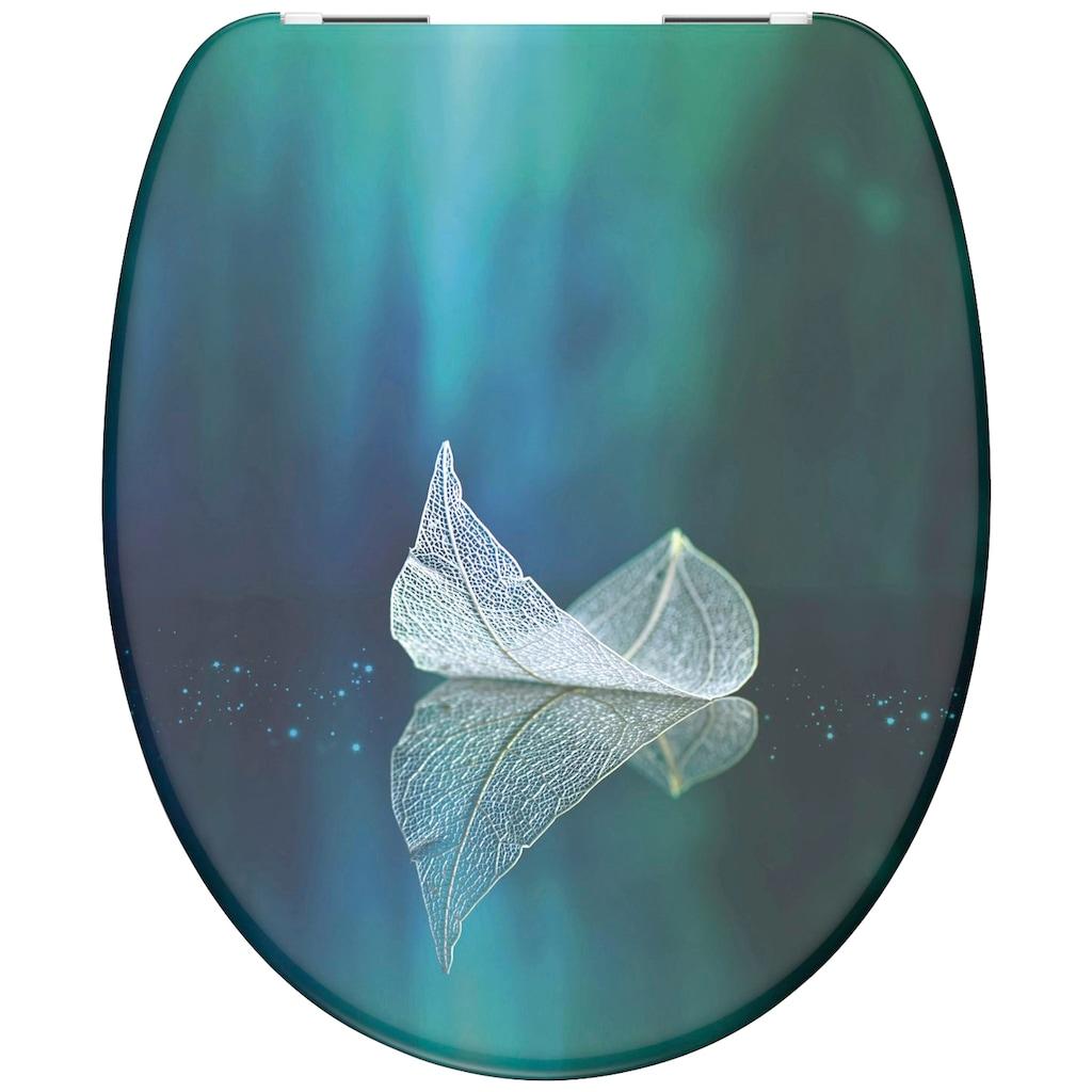 Schütte WC-Sitz »Fallen Leaf«, mit Absenkautomatik