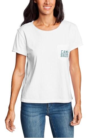 Eddie Bauer T-Shirt, Gypsum Easy - Kurzarm - mit Brusttasche kaufen
