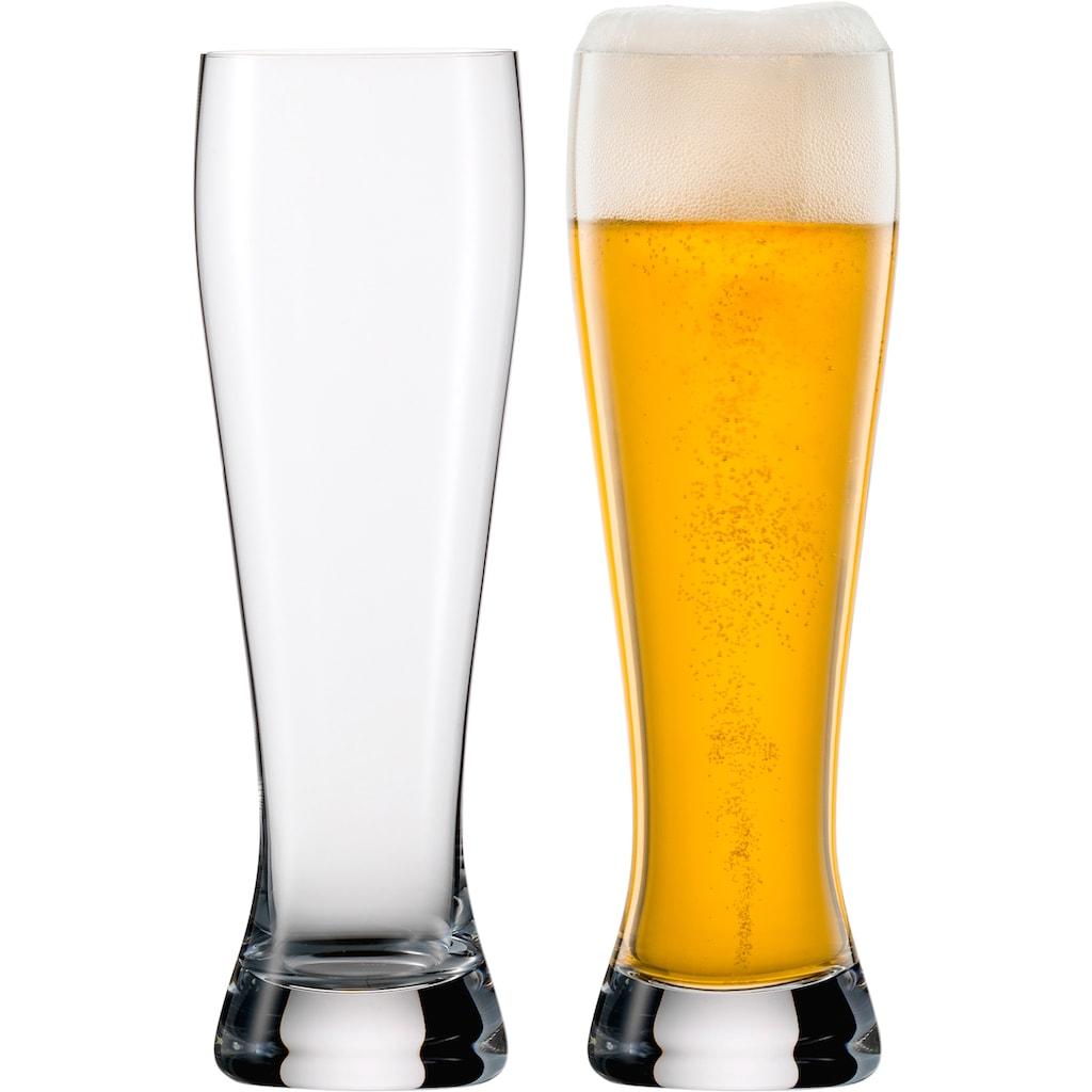 Eisch Bierglas »Jeunesse«, (Set, 2 tlg.), bleifrei, 650 ml, 2-teilig