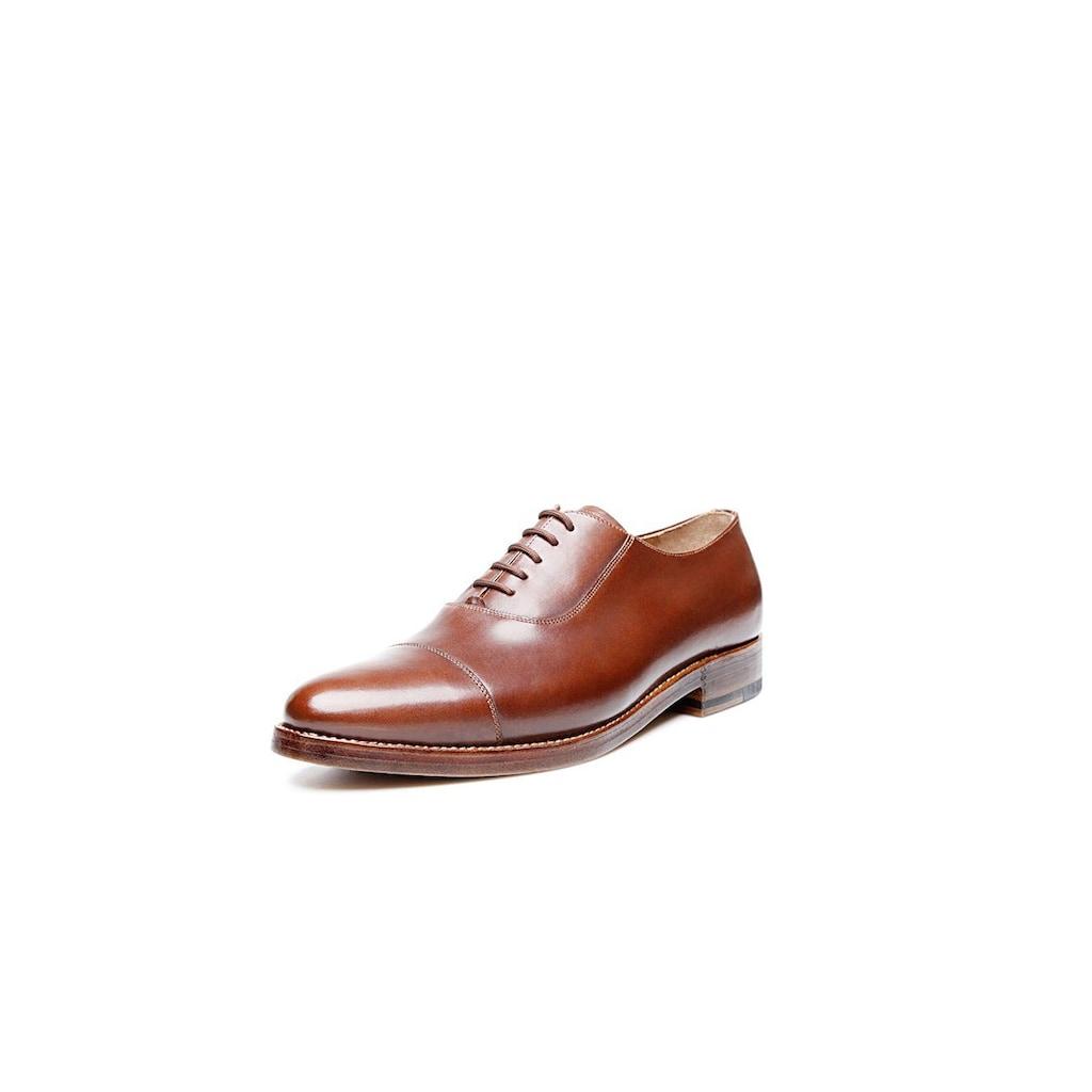Heinrich Dinkelacker Schnürschuh »Milano Captoe AC«, Wahre Schuhmacherkunst aus Budapest