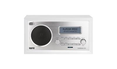 IMPERIAL by TELESTAR Digitalradio (DAB+) »DABMAN 30«, ( Digitalradio (DAB+)-FM-Tuner ), für DAB+/DAB/UKW-Empfang (Retro; Aux in) kaufen