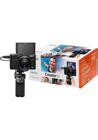 Sony »DSC - RX100 III G« Kompaktkamera (24 - 70mm Carl Zeiss Vario Sonnar T* Objektiv (F1.8 - F2.8), 20,1 MP, 2,9x opt. Zoom, NFC WLAN (Wi - Fi)) kaufen