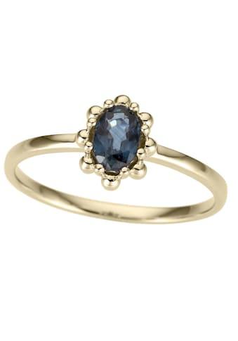 Firetti Goldring »Ovale Ringfassung, glanz, massiv« kaufen