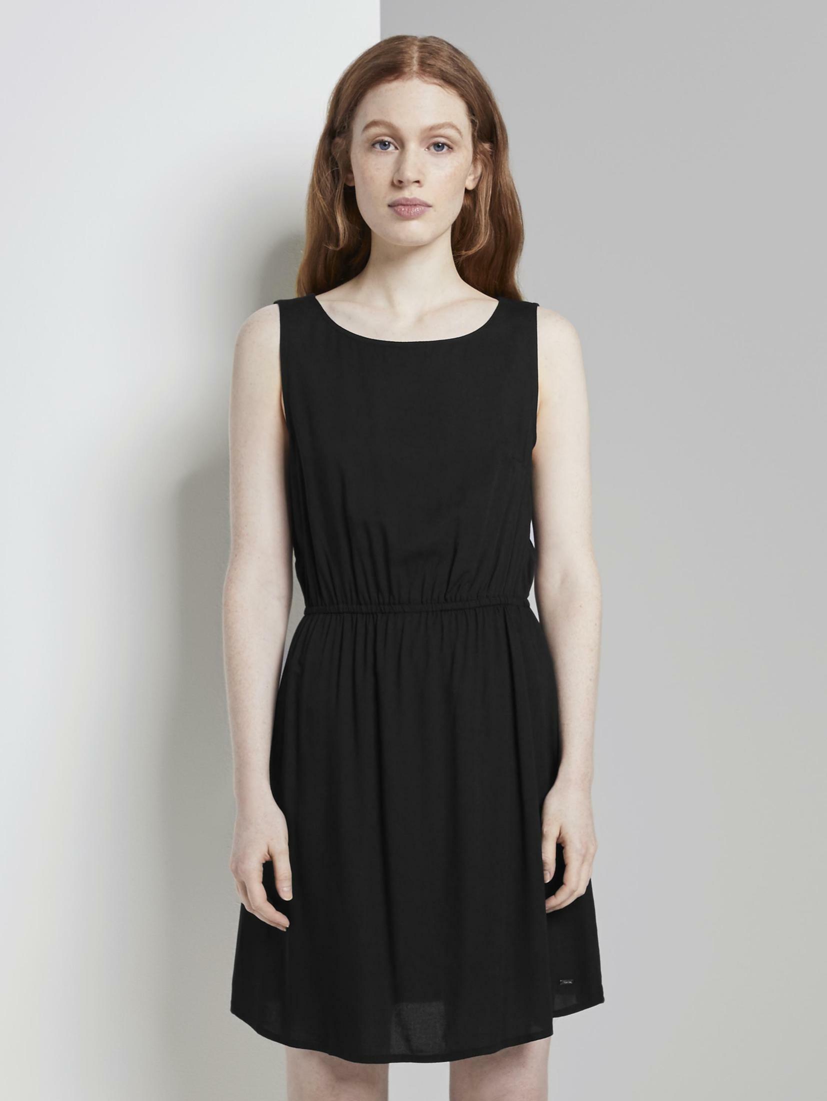 TOM TAILOR Denim Minikleid Basic Minikleid mit Rückendetail Damenmode/Bekleidung/Kleider/Minikleider