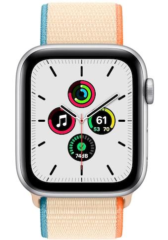 Apple SE GPS, Aluminium Silber, 44mm Watch (Watch OS 6) kaufen