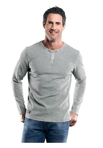 Engbers Henley Shirt mit Waffelstruktur kaufen