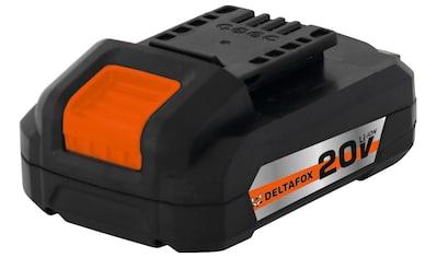 DELTAFOX Akku »DP - CBP2020«, 20 Volt, 2,0 Ah kaufen