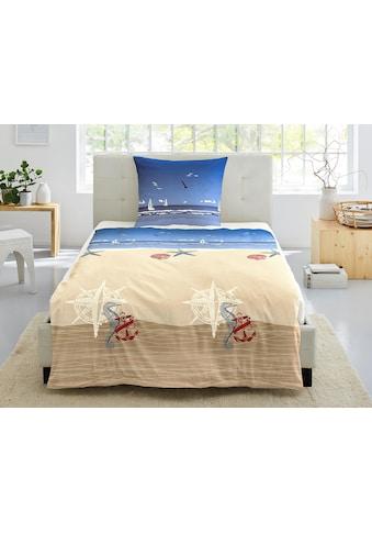 Irisette Bettwäsche »Calypso 8163«, mit schönem Strandmotiv kaufen