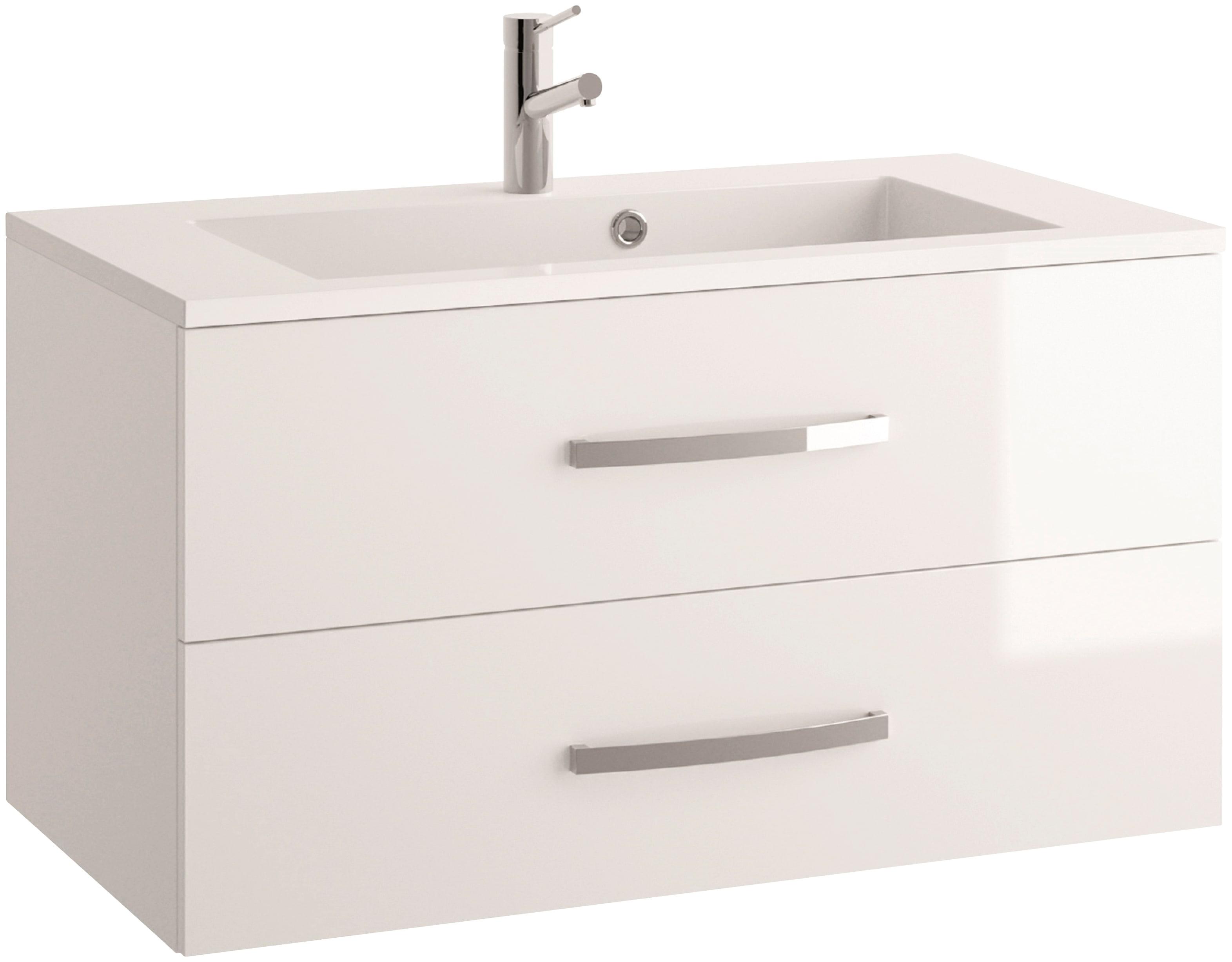 Details zu Waschtisch Allibert Waschtische Inklusive Waschbecken Badmöbel