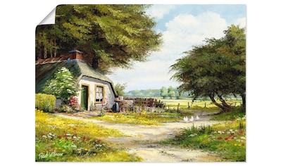 Artland Wandbild »Bauernhaus« kaufen