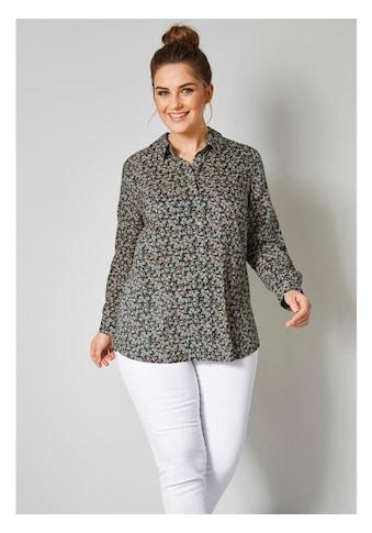 Janet & Joyce by HAPPYsize Hemdbluse aus reiner Viskose kaufen