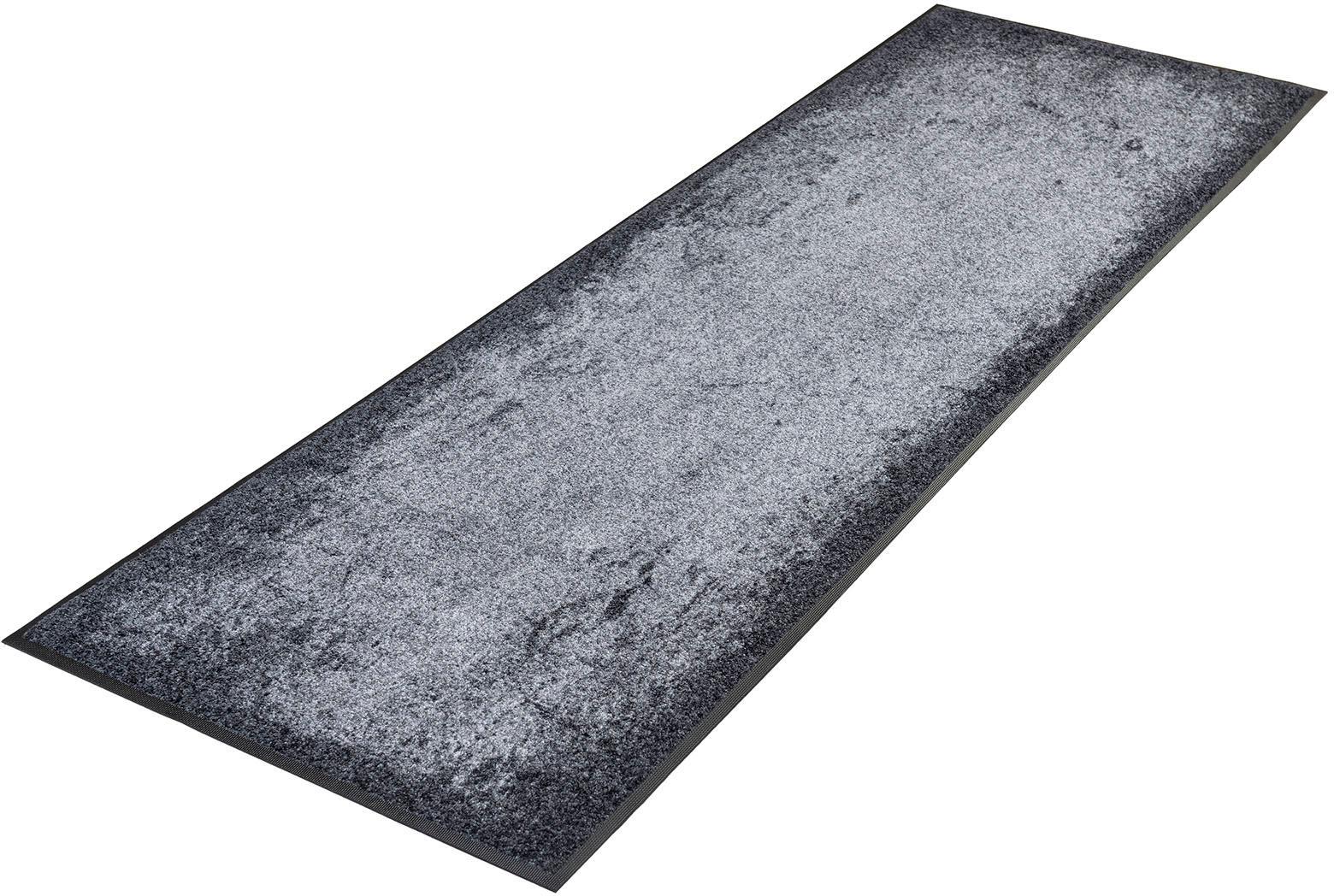 Läufer Shades of Grey wash+dry by Kleen-Tex rechteckig Höhe 7 mm gedruckt