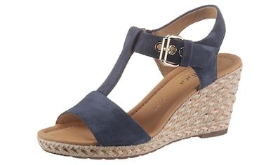 Gabor Sandalette »MILANO«, mit verstellbarer Schnalle kaufen