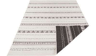 bougari Teppich »Bahamas«, rechteckig, 5 mm Höhe, In- und Outdoor geeignet, Wendeteppich, Wohnzimmer kaufen