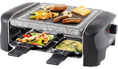 PRINCESS Raclette »4Personen-Stein-Grill - 162810«, 4 St. Raclettepfännchen, 600 W kaufen