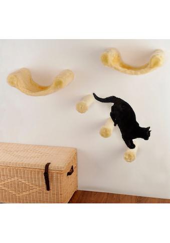 SILVIO design Katzen-Kletterwand »Finja«, hoch, 5-tlg., BxT: 130x30 cm kaufen