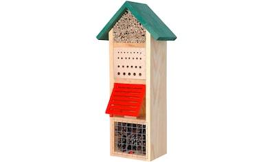 dobar Insektenhotel »Turm mit Spitzdach«, BxTxH: 22,5x14x50 cm kaufen
