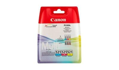 Canon »CLI - 521 C/M/Y Multipack« Tintenpatrone kaufen