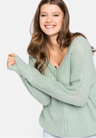 Sheego V - Ausschnitt - Pullover kaufen