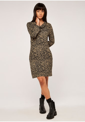 Apricot Strickkleid »Leopard Print Swing Dress« kaufen