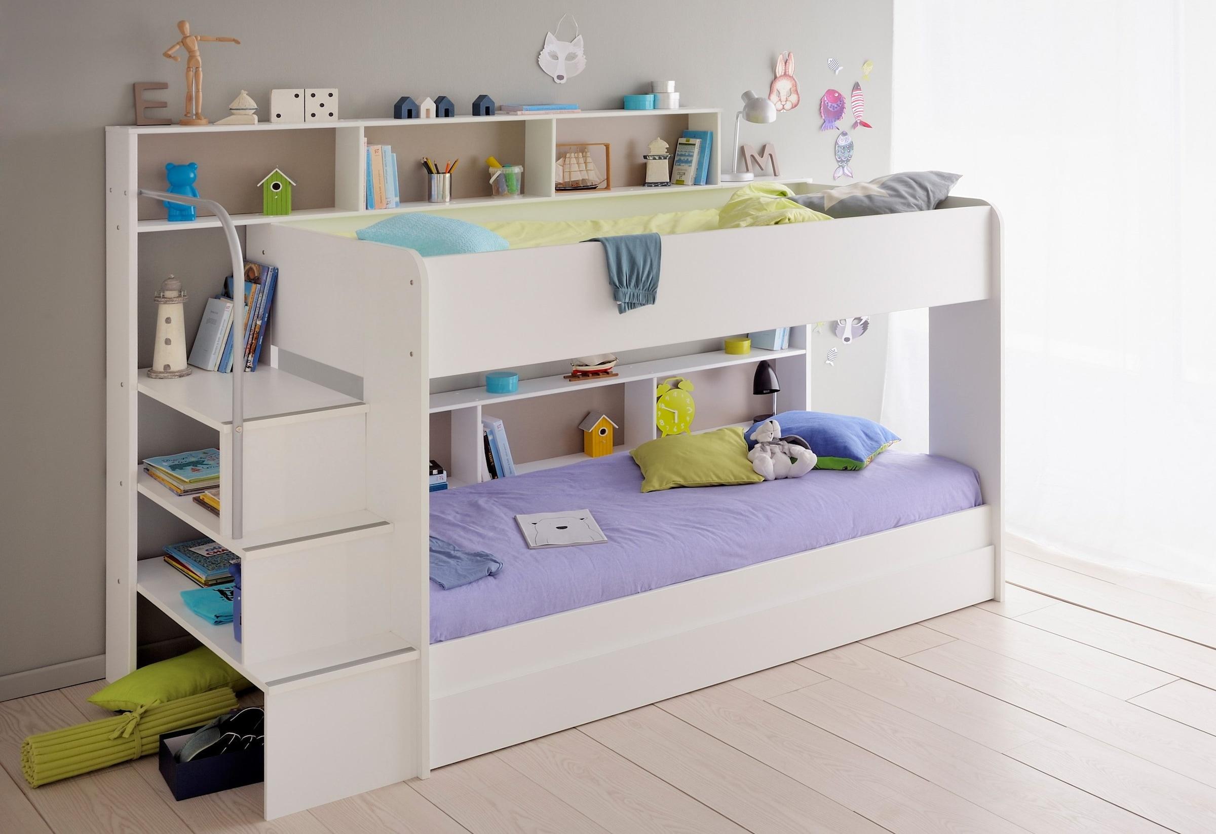 Etagenbett Mit 3 Schlafgelegenheiten : Kinder etagenbetten online kaufen auch auf rechnung baur