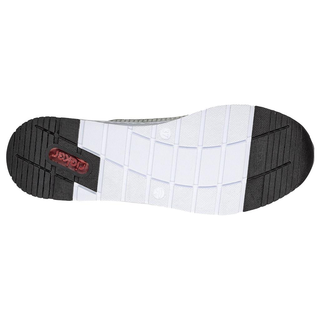 Rieker Sneaker, mit seitlichem Reißverschluss