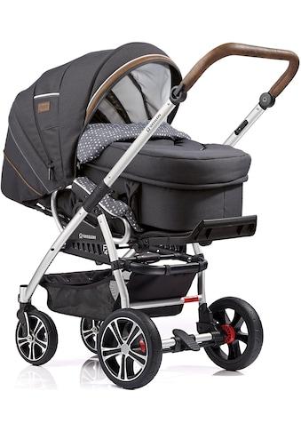 Gesslein Kombi-Kinderwagen »F4 Air+, eloxiert/tabak mit Tragetasche C2 Compact,... kaufen
