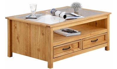 Home affaire Couchtisch »Selma«, mit schöner Holzstruktur kaufen