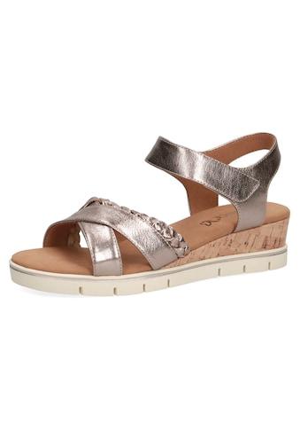 Caprice Sandalette, im Metallic-Look kaufen