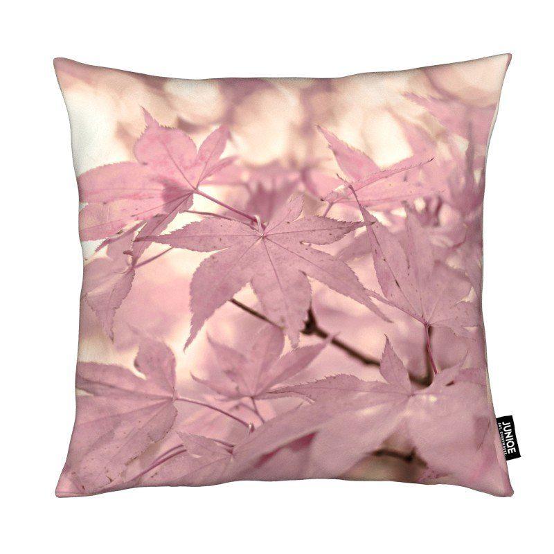 Dekokissen Rose Maple Leaves Juniqe