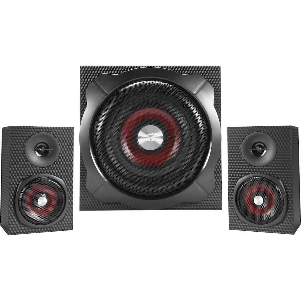 Speedlink Lautsprechersystem »GRAVITY CARBON«
