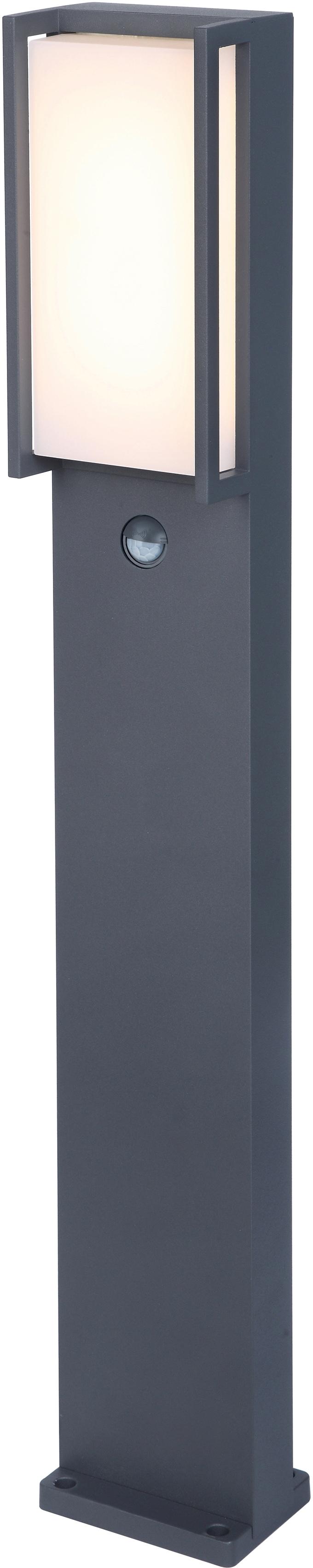 LUTEC LED Pollerleuchte QUBO 7193004118, LED-Modul, 1 St., Warmweiß