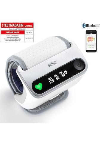 Braun Handgelenk - Blutdruckmessgerät BPW4500 iCheck® 7 kaufen
