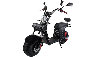 Rolektro E - Motorroller »E - Cruiser 45 Lithium, Schwarz, 60V - 20Ah Akku, 1500 Watt«, 1500 Watt, 45 km/h, Euro 5 kaufen