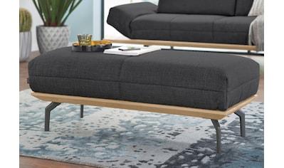 hülsta sofa Hocker »hs.420«, in 2 Qualitäten, Holzrahmen in Eiche Natur oder Nußbaum kaufen