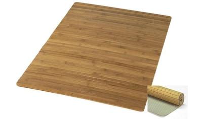Badematte »Bambus Holzmatte«, Kleine Wolke, Höhe 5 mm, rutschhemmend beschichtet, fußbodenheizungsgeeignet kaufen