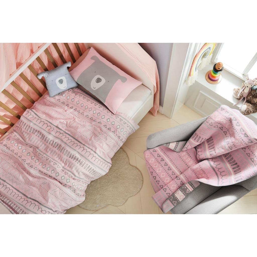 s.Oliver Junior Babydecke »Bär«, GOTS zertifiziert - nachhaltig aus Bio-Baumwolle