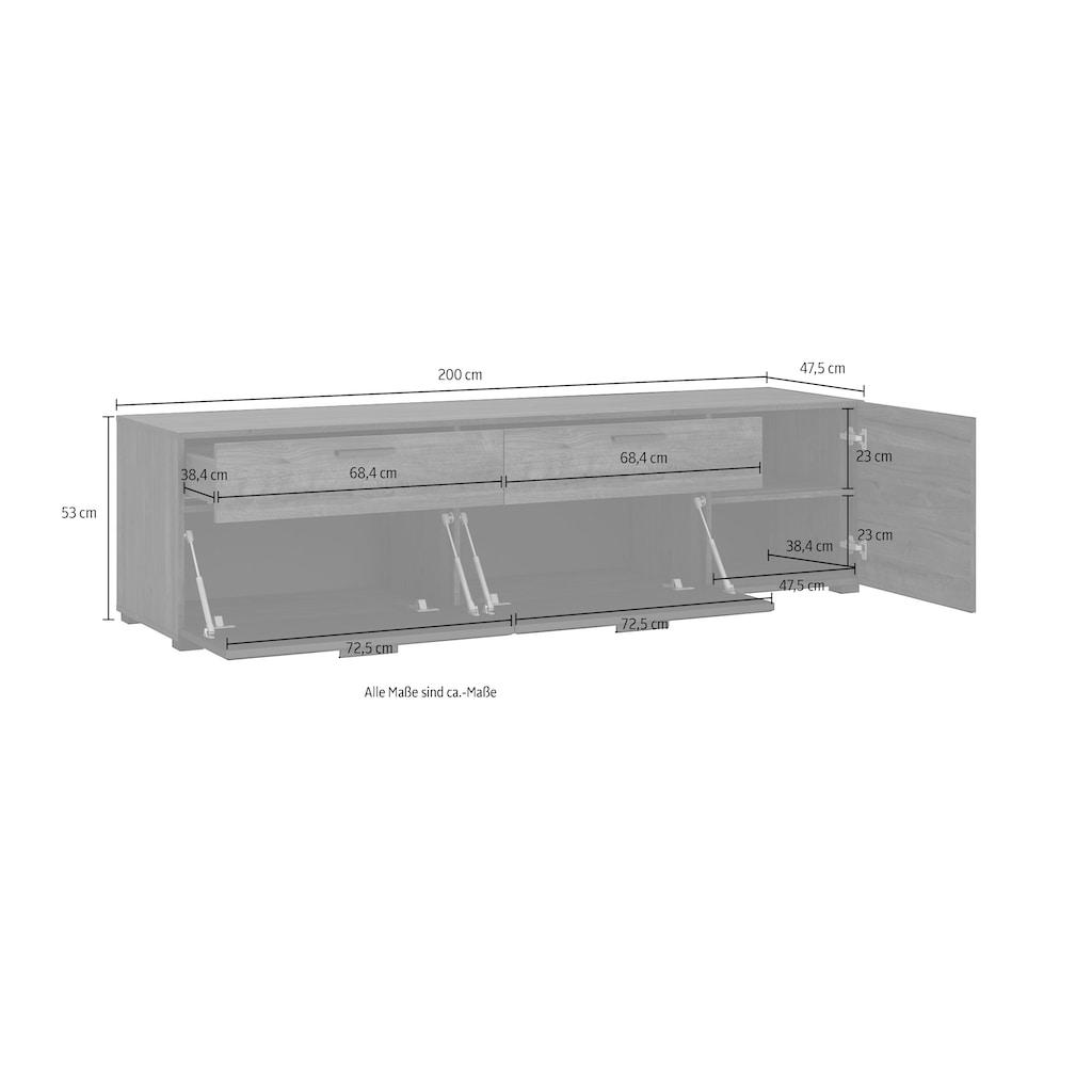 INOSIGN TV-Schrank »Bellini«, Breite 200 cm