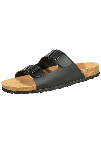 SALIHA Sandale »808709«, SALIHA Bioline Pantolette schwarz kaufen
